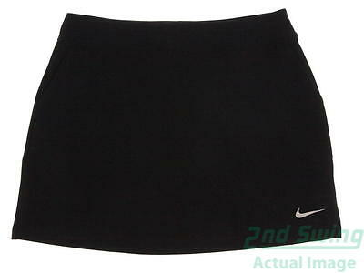 New Womens Nike Golf Skort Size Large L Black MSRP $75