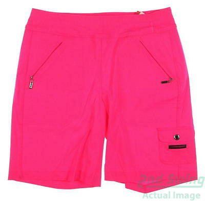 New Womens Jamie Sadock Golf Skinnylicious Shorts Size 10 Pink MSRP $99