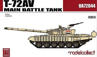 MODELCOLLECT UA72044 T-72AV Main Battle Tank in 1:72
