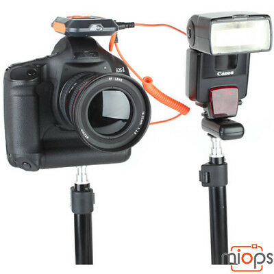 Miops Smart Camera Trigger with Flash Cable to suit your camera.