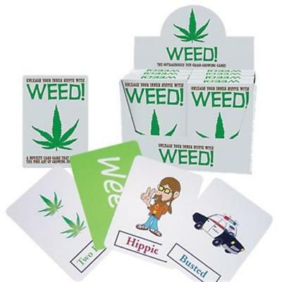 """WEED! THE CARD GAME"" Unleash Your Inner Hippie ~ Brand New"
