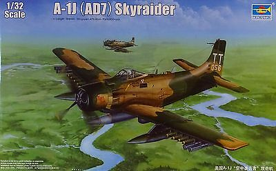 TRUMPETER® 02254 US Navy A-1J AD-7 Skyraider in 1:32