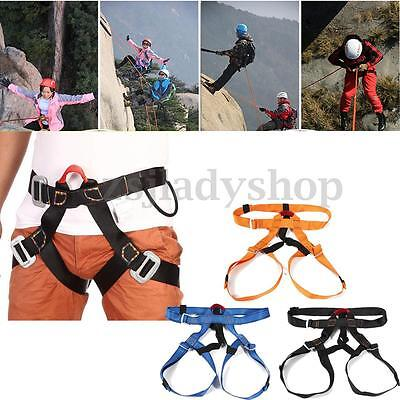 Outdoor Rock Climbing Rappelling Equipment Harness Seat Belt Sitting Safety Tool