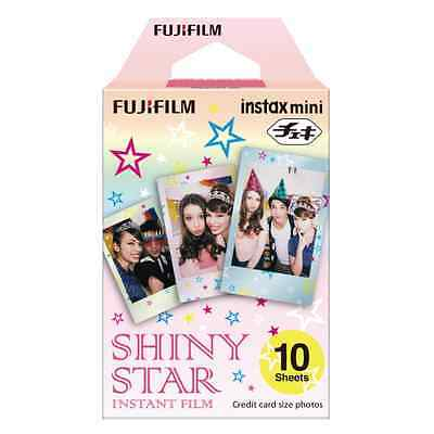 Fujifilm Instax Mini Instant Film Single Pack (10 Shots): Shiny Star