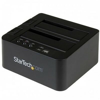 "NEW! Startech.Com Usb 3.1 (10Gbps) Standalone Duplicator Dock For 2.5"" & 3.5"" Sa"