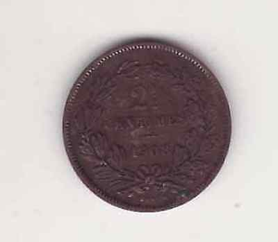 Luxemburg Luxembourg 2 ½ Centimes 1908 SS-VZ (Bro)