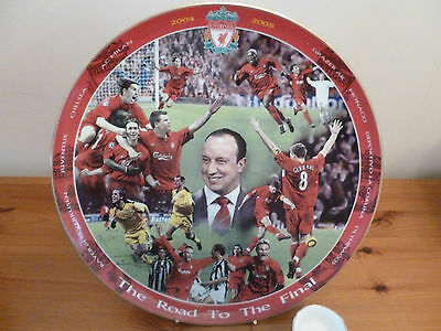"""*12"""" Danbury Mint """"the Road To The Final Liverpool Plate*kop"""