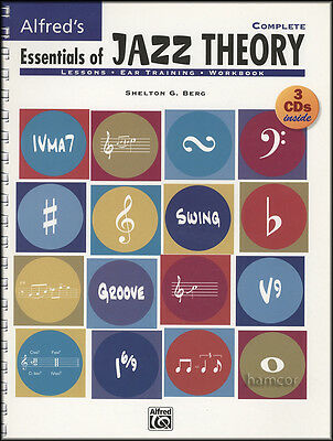 Alfred's Essentials of Jazz Theory Complete Music Book/3CDs