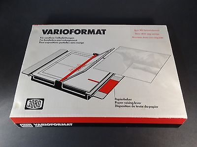 JOBO Varioformat 8x10 Easel with Test Strip Printer - Code #6810 - Boxed