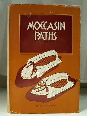 1966 MOCCASIN PATHS Pat & Art Wakolee Mormon Native American Faith Story 1st Ed
