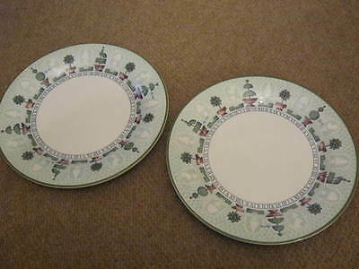 Staffordshire Topiary Dinner Plates X 2 (Several Available)