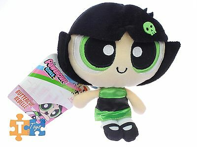 "BUTTERCUP REBELLE 8"" The Powerpuff Girls Spin Master 2016 Soft Plush Figure NEW"