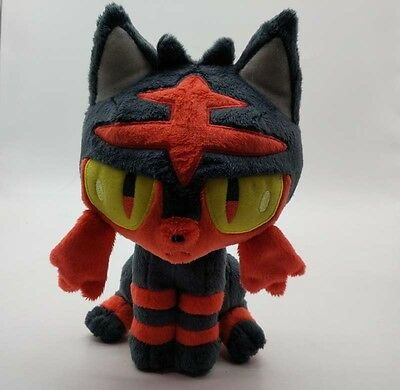 "20cm/ 8""  Pokemon Figures LITTEN Plush Toy - Soft Stuffed Litten Doll Kids Gift"