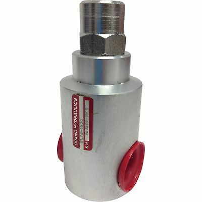 Brand Hydraulic In-Line Relief Valve - 25 GPM Flow Rate, #RL50-2000