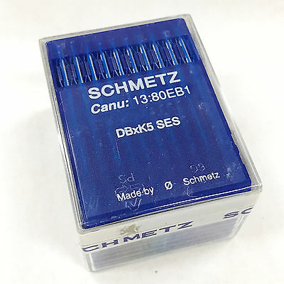 100 Schmetz DBXK5 SES Light Ball Point Needles For Commercial Embroidery Machine