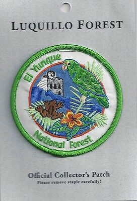 Luquillo Forest (El Yunque National Forest) Puerto Rico Souvenir Patch