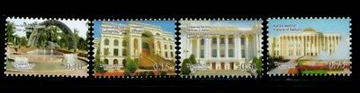 TADJIKISTAN Grand Architecture MNH set