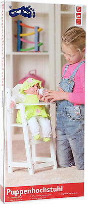 High chair for Dolls Wood ca. 28 x 22 x 53 cm new