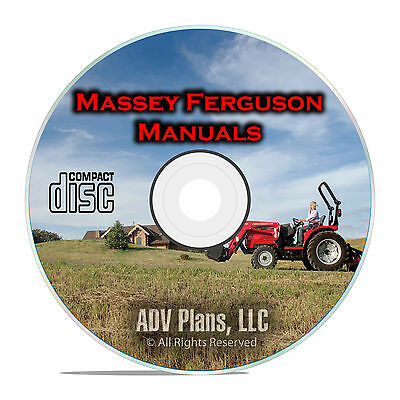 Massey Ferguson Tractor Shop Manuals, MF35, MF135, TE-20, TO-20, TO-30, CD F53