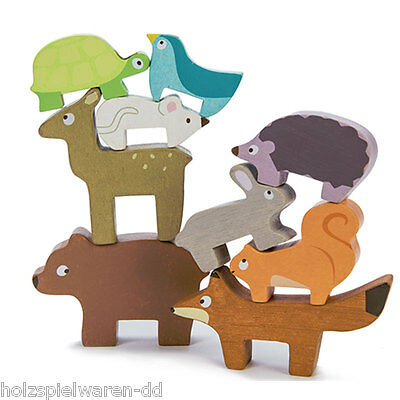 Le Toy Van PL087 Stacking game Forest animals new wood! #