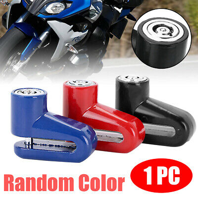 1xSecurity Anti-theft Heavy Duty Motorcycle Moped Scooter Disk Brake Rotor Lock