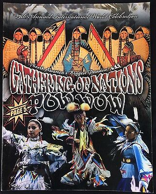 29th Annual Gathering of Nations Pow Wow Program Book International 2012