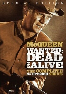 Wanted: Dead or Alive - The Complete 94 Episode Series [12 Di (2013, DVD New) BW