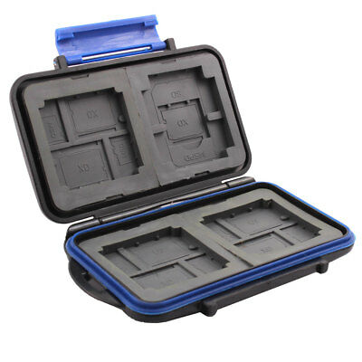 Water Resistance Anti-Dust Memory Card Storage Case for SD CF TF XD MSPD Cards
