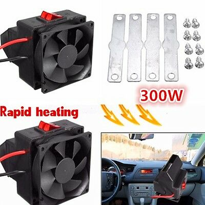 PTC 12V 300W Car Adjustable Heating Heater Hot Fan Defroster Demister Blowers
