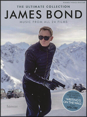 The Ultimate James Bond Collection Piano Vocal Guitar Sheet Music Book Spectre