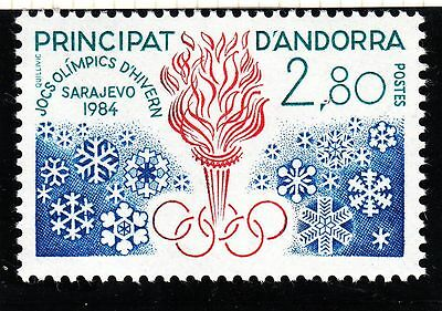 Timbre Andorre France Neuf N° 327  *  Jo D Hiver A Sarajevo