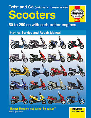 Piaggio Scooter Fly 50 125 Hexagon Liberty NRG Skipper Zip 50 Haynes Manual 4082