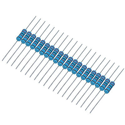US Stock 200pcs 3.3M ohm 3.3Mohm 1/4W Watt  Metal Film Resistor 0.25W 1%