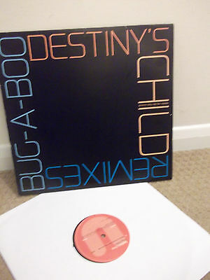 "Destiny's Child Bug-A-Boo Remixes 12"" Vinyl Beyonce Wyclef Jean Writings On The"