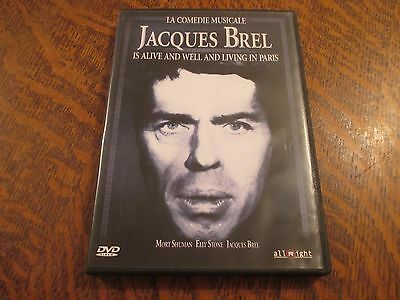 dvd la comedie musicale jacques brel is alive and well and living in paris