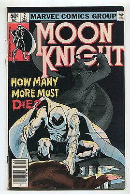 Moon Knight #2  VF/NM  How Many More Must Die Marvel Comics CBX35