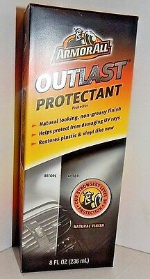 Armor All Outlast Protectant Interior Finish Restores Plastic and Vinyl UV Ray