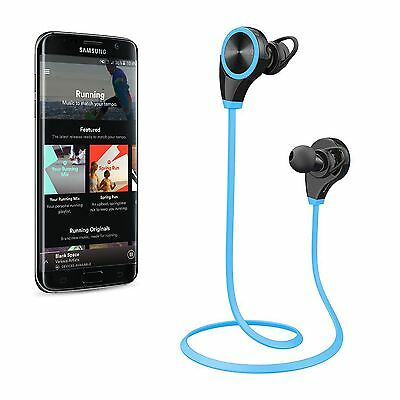 Bluetooth Sports Wireless Headphones Headset Gym Running In Ear for Mobile Phone