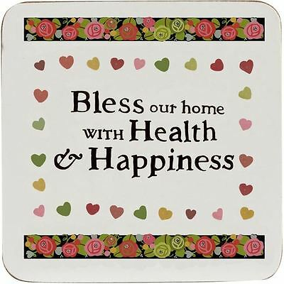 Churchill China Julie Dodsworth Bless Our Home Placemat 29cm (Set of 4)