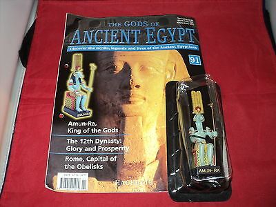 Hachette The Gods of Ancient Egypt - Issue 91 - Amun Ra - king of the gods