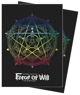 Force of Will: Magic Circle Deck Protector Sleeves (65) UPI 84848