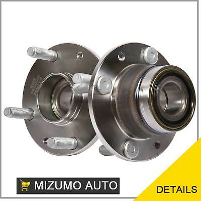 2 New Rear Left and Right Wheel Hub Bearing Assembly Pair w/o ABS GMB 725-0043