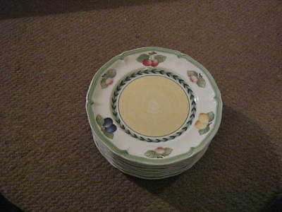 Villeroy And Boch French Garden Tea Plates X 2