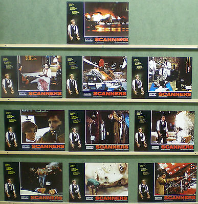 TR24 SCANNERS DAVID CRONENBERG MICHAEL IRONSIDE Lobby Set Spain