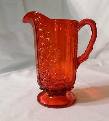 L.G. Wright ~ Ruby Red ~ Grape Pat. ~ 30oz Pitcher