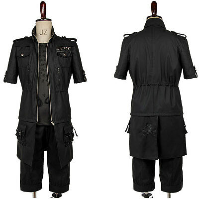 Final Fantasy 15 FF15 Noctis Lucis Caelum Prince Noct Cosplay Costume Outfit Set