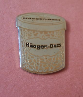 Häagen-Dazs® Ice Cream (Shaped Like Container) -  Advertising Pin