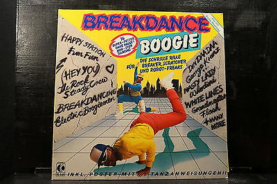Various Artists - Breakdance Boogie (mit Poster)