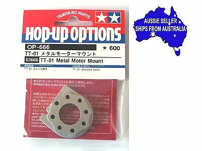 Tamiya brand alloy motor mount  to fit TT01 all models & DF-02 1:10 RC cars