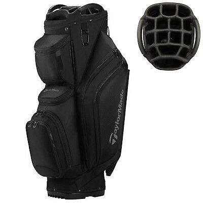 2017 TaylorMade Golf Mens Elite Cart Bag New Tm Trolley Carry 15 Way Top Divider